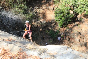 Rappelling tours